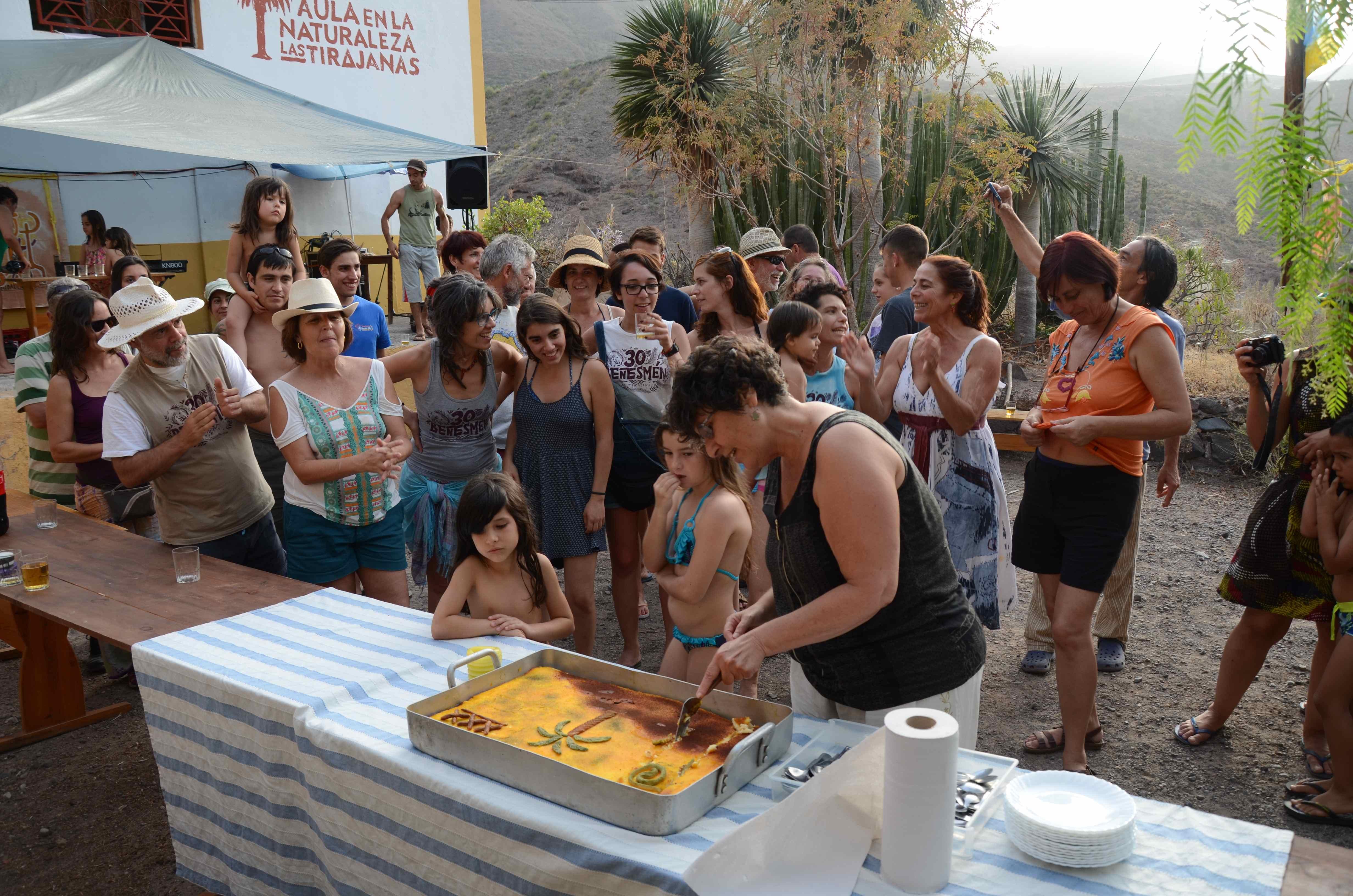 Aula en la Naturaleza de Las Tirajanas 30º aniversario