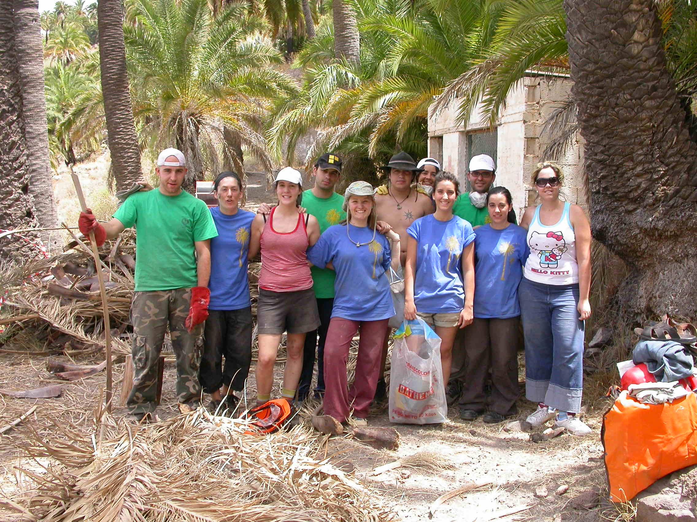 Voluntariado en Las Tirajanas